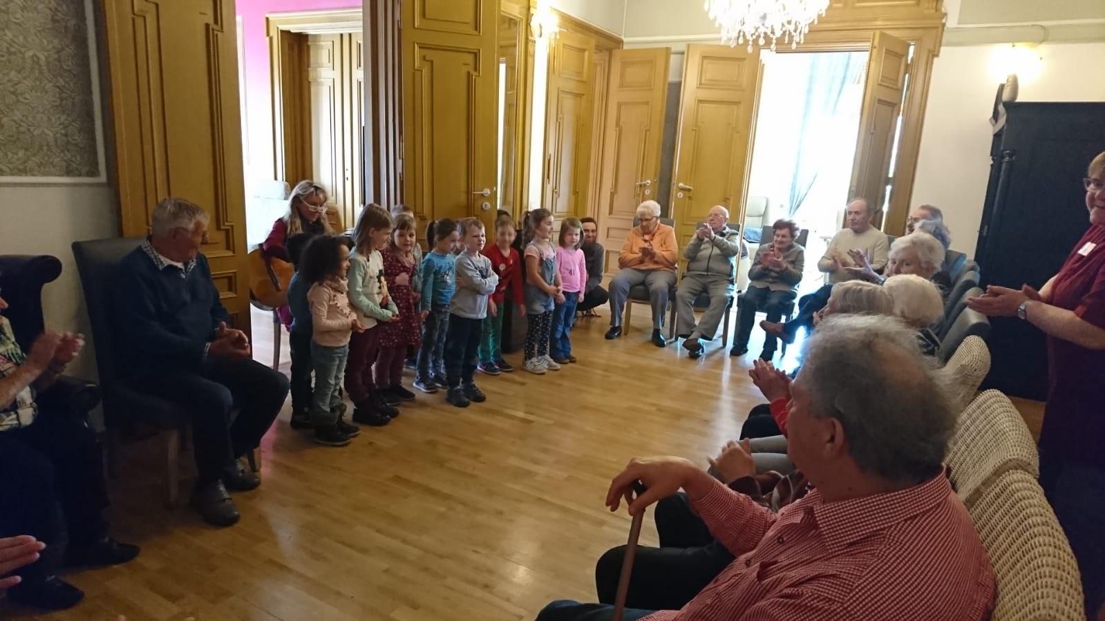 Besuch der Kindergartengruppe